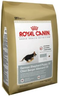 New Royal Canin Dry Dog Food German Shepherd Puppy 30 Formula 30 Pound