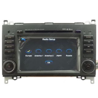 Car GPS Navigation System DVD Player for Mercedes Benz