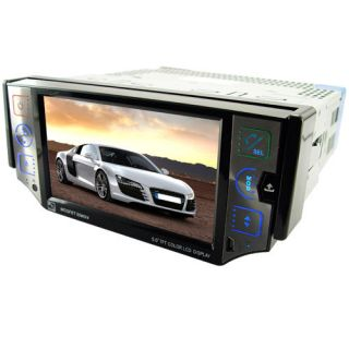 DIN Car GPS Navigation System DVD Player w Bluetooth