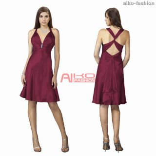 Sexy A Line Cocktail Party Prom Gown Dresses AU 6 20