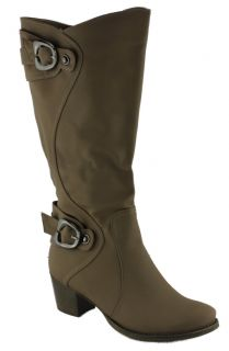 Donna Velenta Kitma Womens Ladies Knee High Boots in Three Colours EUR