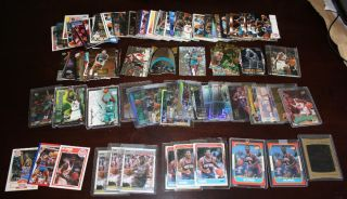 Huge Sports Card Collection Graded Inserts Memorabilia Autographs