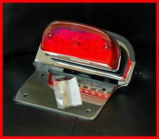 RICK DOSS LED TAILLIGHT 2006 2013 HARLEY SOFTAIL CUSTOM FXST C FXSTB