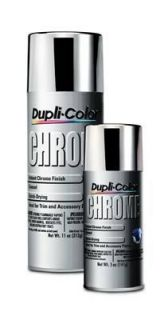 Dupli Color CS101 Paint, Instant Chrome, Enamel, Gloss, Chrome, 11 oz