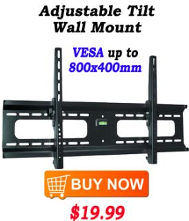New Tilt Swivel Wall Mount for Dynex LCD TV 32 37 Inch