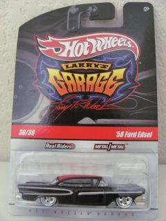 Hot Wheels 2010 Larrys Garage 38 39 58 Ford Edsel