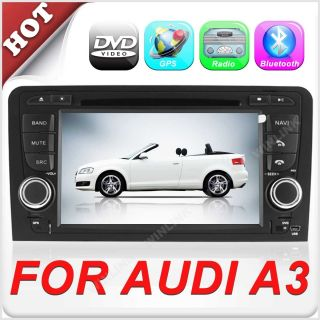 Hot Audi A3 S3 HD Car GPS Navigation System DVD Player