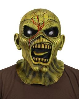 Iron Maiden Eddie Piece of Mind New Latex Mask Offic
