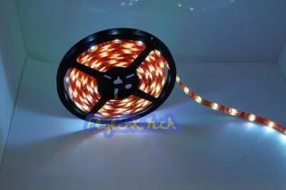 Changing RGB Ribbon Flexible LED Light Strip 12V 5M Waterproof