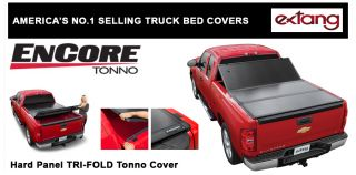 Silverado 58 Bed Extang EnCore Hard Panel Tri Fold Tonneau Cover