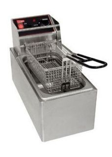 New Commercial Kitchen Countertop Electric Fryer 6 Lb