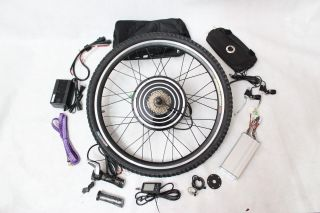48V 1000W Rear Wheel Electric Bicycle Conversion Kits with LCD Display