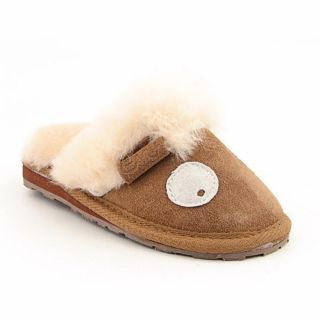 Emu Australia Lamb 2011 Infant Baby Girls Size 12 Brown Slipper Shoes