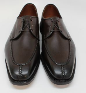 Allen Edmonds Parkway Mens Brown MOC Toe Lace Up Oxford Dress Shoes