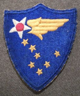 insignia for the alaska air command stationed at elmendorf afb the