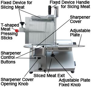 12 Commercial Electric Meat Food Cheese Slicer Deli US