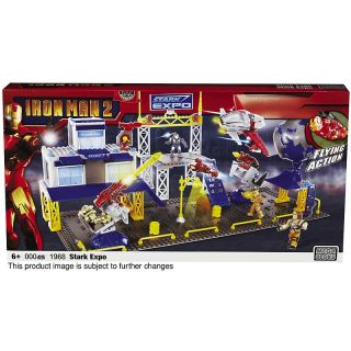 107 6409 mega bloks iron man 2 stark expo playset rating be the first