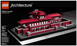 Robie House Lego Architecture New in Box Falling Water