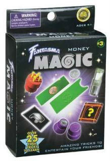 Fantasma Magic Money 25 Tricks Magicians Supplies Brand New in Box