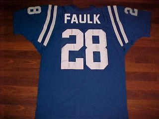 NFL Indianapolis Colts Marshall Faulk 28 Jersey New