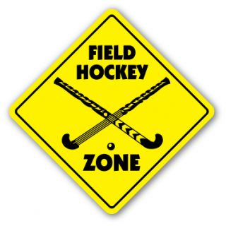 field hockey zone sign stick bag ball players gift price