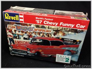 Tom McEwens WORLDS FASTEST 57 CHEVY BEL AIR FUNNY CAR ★ 1989 NIB