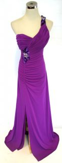 Hailey $145 Magenta Formal Evening Party Gown 4