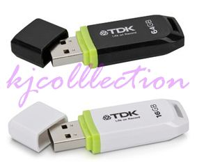 TDK TF10 64GB 6g USB 2 0 Flash Pen Drive Thumb Disk Memory Stick