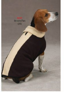 Soft Fleece XXS 8L Puppy Dog Fido Style Coat Pet Jacket