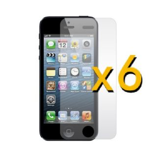 6X Screen Protector Film Anti Glare Fingerprint Matte for New iPhone 5