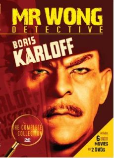 Complete Collection New DVD 6 Films Boris Karloff 089859850622