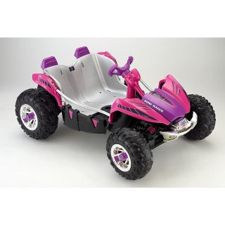 Power Wheels Fisher Price 12 Volt Dune Racer Ride on Pink