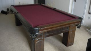 Foot Connelly Billiards Pool Table Chiricahua Model