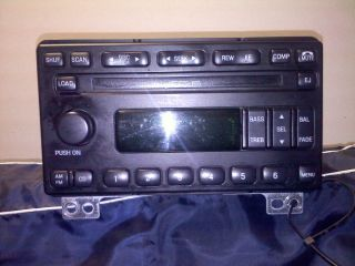 Ford 6 disc cd changer car stereo mustang expedition explorer