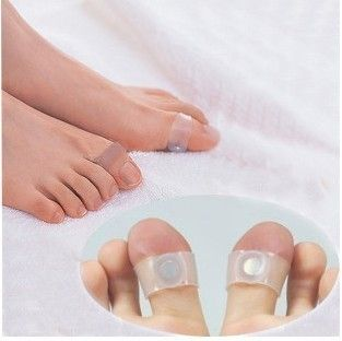 20 Pairs Magnetic Silicon Slim Foot Massage Toe Rings
