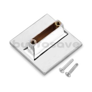 Zinc Alloy Crystal Square Cabinet Drawer Door Pulls Handles w/ Screws