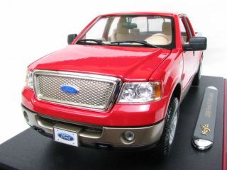 Maisto 2006 Ford F 150 Lariat 1 18 Diecast Car Red