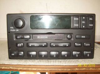 99 02 Ford Expedition F150 RDS Radio Cassette YL3F 18C870 AA