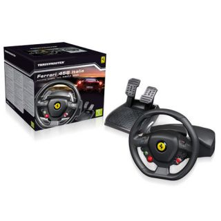 NEW Thrustmaster Ferrari 458 Italia Racing Wheel For XBox 360