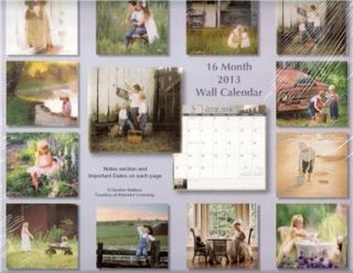 Protected 2013 16 Month Wall Calendar Magical Moments Children