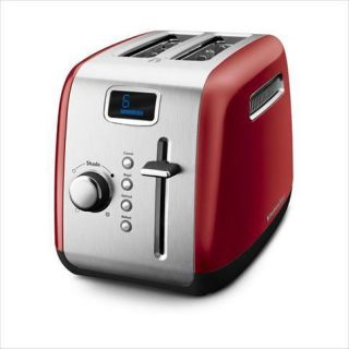 KitchenAid KMT222ER 2 Slice Red Digital Stainless Steel Toaster with