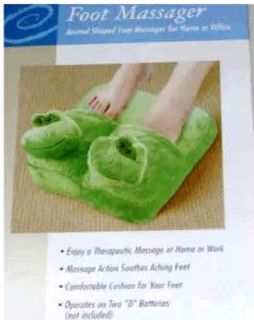Brand NEW Portable Vibrating Frog Foot Massager   FREE SHIP