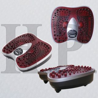 Circulation Far Infrared Heated Foot Massager Spa Reflexology Vibrate