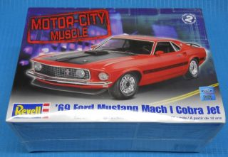 Revell 1969 Ford Mustang Mach 1 Motor City FS Model Car Swap Meet