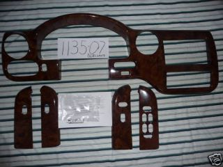 FORD EXPEDITION MOLDED DASH KIT PREMIUM BURLWOOD 03 06 NICE 4X2
