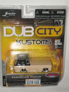 Jada Dub City Kustoms 1 64 65 Ford Econoline Pickup