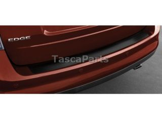 New Black Rear Bumper Protector Step Pad 2011 2013 Ford Edge