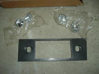 70s Ford Pinto or Mustang Radio Knobs Bezel