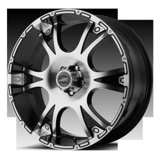 RACING AR889 889 DAGGER BLACK SUPER DUTY F250 F350 FORD WHEELS RIMS