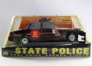 Vintage Funrise State Police Series LE Toile de Nord State Potrol